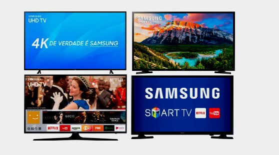 Smart TV Samsung de 32 a 70 Polegadas Compare