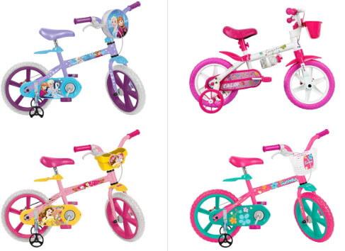 bicicletas infantis para meninas