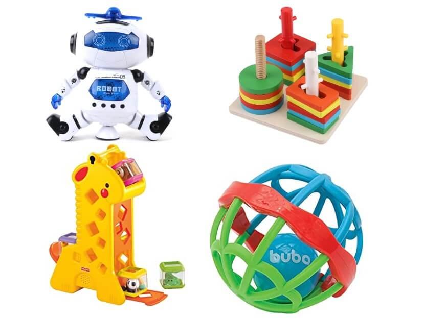 Brinquedos para crianças pequenas