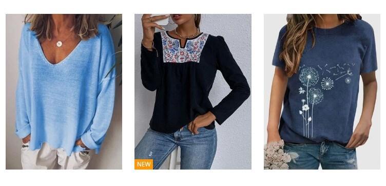 Camisetas Femininas Elegantes e Funcionais