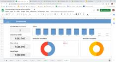Planilha Google de Cadastro de Funcionários