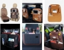 Organizadores e bolsas de armazenamento para automóveis