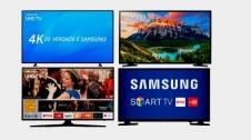 Smart TV Samsung de 32 a 70 Polegadas Lista de Ofertas